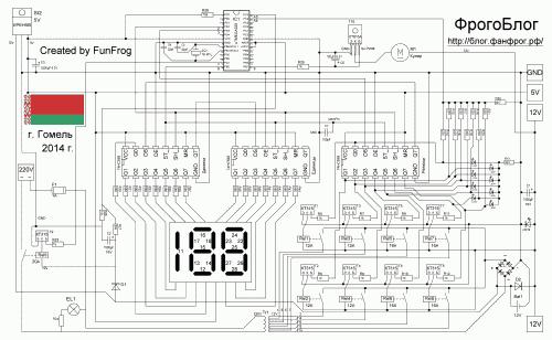 схему готового устройства: