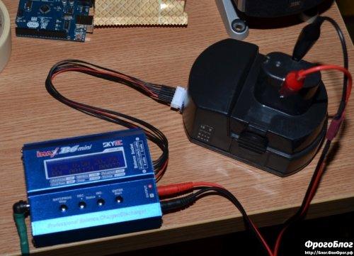 Зарядное устройство для разряда и заряда шуруповерта 12в