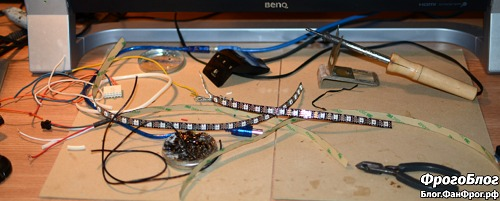 Ambilight своими руками на Arduino и ws2812b