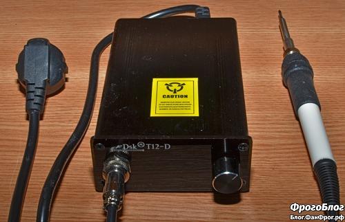 Паяльная станция Dsk T12-D OLED