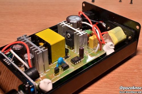 Паяльная станция Dsk T12-D OLED - блок питания