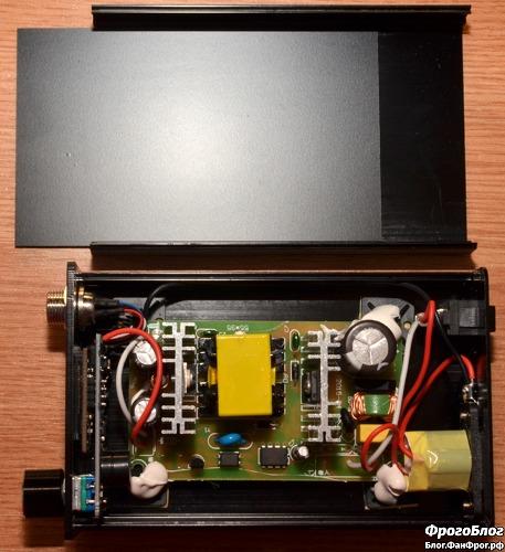 Паяльная станция Dsk T12-D OLED - разобранная