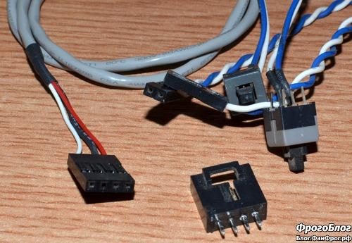 Шлейфы и разъёмы для создания кабеля