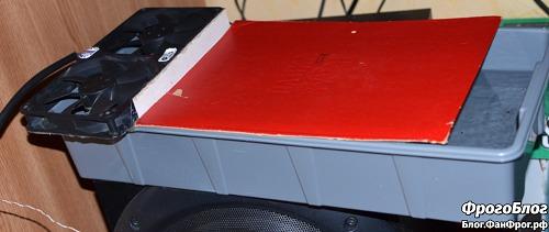 Самодельный увлажнитель и охладитель тёплого воздуха от компьютера