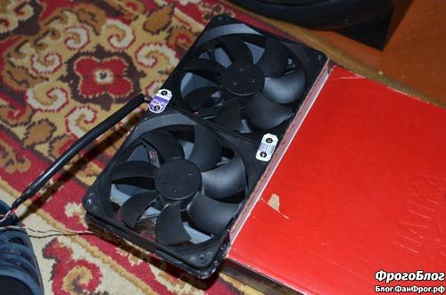 Вентиляторы увлажнителя-охладителя воздуха