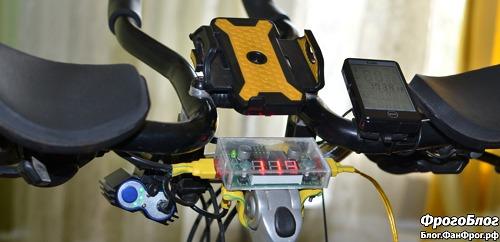 Телефон на велосипед